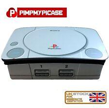 Raspberry Pi Black Case Shell for the Raspberry Pi 4B PlayStation Themed