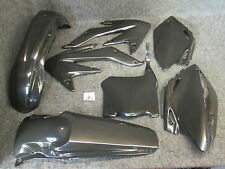 Honda CRF450 2008 New Doc Wob X-Fun complete black plastic kit PK1014