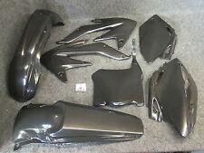 Honda CRF450 2008 Nuovo Doc Wob X-Fun completo nero kit in plastica PK1014