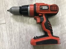 BLACK + & DECKER HP188F4 18V Cordless Combi Hammer Drill Driver Bare Unit Only
