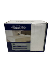 Tempur-pedic Waterproof Mattress Pad NEW Queen Size 60x80 inches NEW White READ