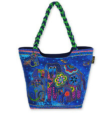 Laurel Burch Canine Family Scoop Tote