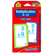 NEW Multiplication 0-12 Flash Cards TOP Quality Fast Free Shipping