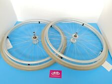 Pair, Invacare Wheelchair Quick Release Rear Wheels, Push Rims & Solid Tyres, B3
