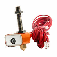 Geeetech MK8 Extruder heat part  Hot End kit gathered nozzle throat with cable