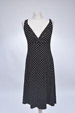 Kleid Jerseykleid mit Punkten von Kaleidoscope, 42 XL, neu