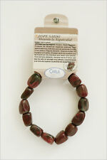 Jaspe Sardo pulseras de minerales, Sardinian Jasper bracelets  R