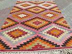 "Anatolia Antalya Classic Kilim, Large Rug, Carpet, Kelim, Teppich Tapis 82""x113"""