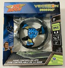 Air Hogs Vectron Wave Hand Controlled UFO Light FX Flyer BLUE/ BLACK NEW