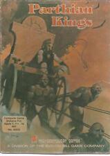 "Parthian Kings APPLE II 2 Avalon Hill 5.25"" FLOPPY 1983 strategy game! BIG BOX"