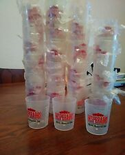 60 x Desperado Plastic Shot Glasses New Reduced to clear