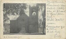 Salem New York~Bell in Tower @ Methodist Episcopal Church~1906 B&W UDB Postcard