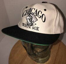 Vintage CHICAGO WHITE SOX 80s EdsWest Signature Six Panel Hat Cap Snapback RARE