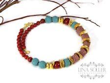 Echtschmuck-Halsketten für besondere Anlässe-Korallen