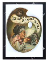 Historic Levering's Roasted Coffee Advertising Postcard