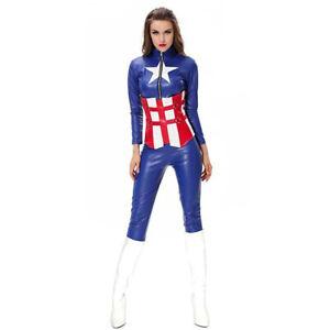 Women American Hero Costume