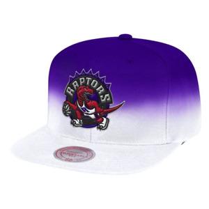 Mitchell & Ness White NBA Toronto Raptors Color Fade HWC Snapback