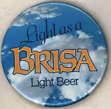 "1980's Brisa Beer 2 1/2"" Pinback Button"