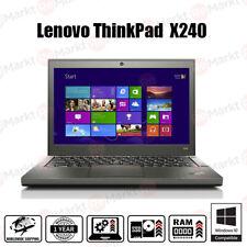 Lenovo Thinkpad X240 Laptop Core i5-4300U HDD SSD ⚙️UPGRADEABLE!🔝