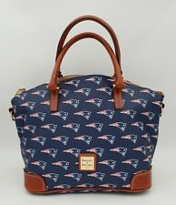 Dooney & Bourke New England Patriots Logo Charli Satchel NWT Go Pats! 🏈