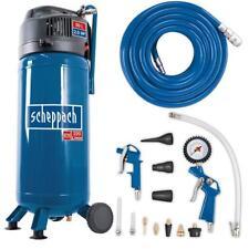 Scheppach 50 Liter Kompressor HC51V + 13tlg. Druckluft-Set & 15m Gewebeschlauch