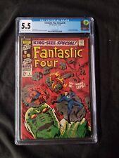 Fantastic Four Annual #6 1st Annihilus, 1st Franklin Richards, CGC 5.5 Free Ship