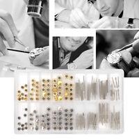 1 Box Watch Stem Extender + Crowns Watch Repair Replacement Accessories Tool Kit