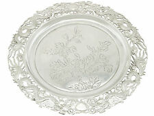 Chinese Export Silver Salver - Antique Circa 1900