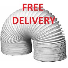 Extra Strong White Knight Tumble Dryer Vent Hose 100mm x 1.5 Metre FREE DELIVERY