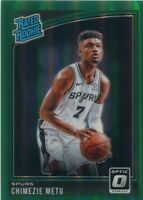 2018-19 OPTIC PRIZMS GREEN /5 RC CHIMEZIE METU SAN ANTONIO SPURS PRIZM - CL1844