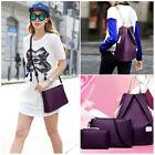 3PCS/Set Fashion Women Handbag Shoulder Messenger Bag Backpack Ladies Purse Gift