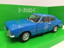 Ford Capri I 1600 Gt Xlr Blu 1969 WELLY 1:24 WE24069BL