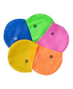 Swim Secure Larger Silicone Swim Swimming Hat / CAP *Various Colours*