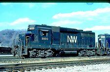 N&W 2900 GP-30, Portsmouth, OH, 03/81; Kodachrome Original