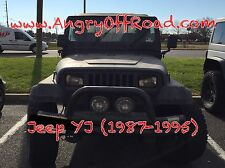 AngryOffRoad- Jeep Wrangler YJ Angry Eyes / Headlight Trim