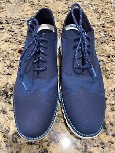 Cole Haan men's Zerogrand size 10 blue dress sneaker C29648 $180 retail