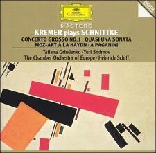 Kremer Plays Schnittke (CD, 1990, Deutsche Grammophon) Gideon Kremer