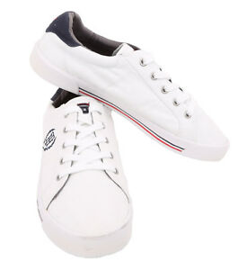 Tommy Hilfiger AM DEMAR White Multi Fabric Sneaker Shoes - $0 Free Ship