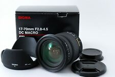 Sigma 17-70mm f/2.8-4.5 DC Macro Lens for Pentax K W/BOX Exc++++ from Japan #115