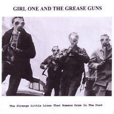GIRL ONE AND THE GREASE GUNS The Strange Little Lines That Humans Draw CD 2016