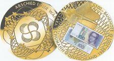 Despedida de una moneda - 100 dm Clara Schumann-alemana billetes cuños