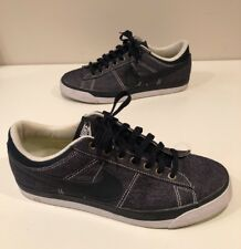 Nike Mens Low Top Athletic Shoes Blue/denim Material Size 9.5