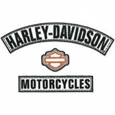 HARLEY DAVIDSON H-D Name Rockers 3pc Medium Patch