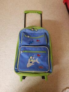 Sigikid Trolley Koffer Junge, Blau, Kinder