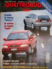 Quattroruote 488 1996 Audi A3. Nuova Dedra, in arrivo la Golf. S40 berlina[Q.57]