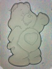 Flexible Mold Cute Bear with Heart Resin, Chocolate Or Soap Mould