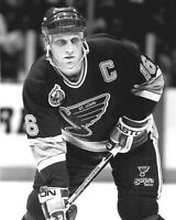 1993 St. Louis Blues BRETT HULL Glossy 8x10 Photo NHL Hockey Print Poster