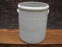 ANTIQUE # 12 CROCK WITH HANDLES! NICE! OZARK MO MISSOURI SPRINGFIELD