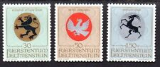 Liechtenstein 1969 Coats of arms Mi. 514-16 MNH
