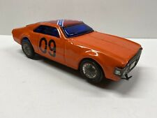 Vintage Tin Battery Operated 10� Oldsmobile General Lee Knock Off with Flag